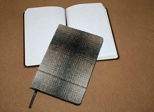Wool Covered Field Journals