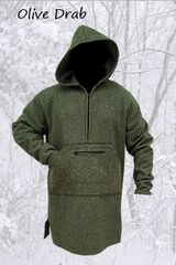 Northwoods Anorak Olive Drab (Blanket Weight)