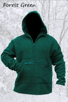 Pathfinder Forest Green(Blanket Weight Heaviest Wool)