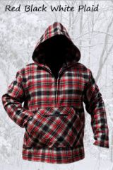 Pathfinder Red Black & White Plaid
