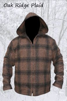 Jacket Oak Ridge Plaid