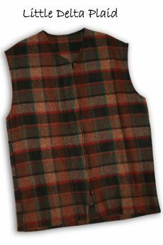 Vest Little Delta Plaid