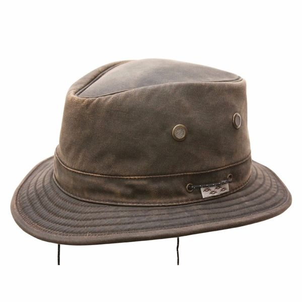 Short Brim Wathered Cotton
