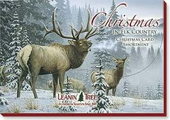 Boxed Christmas cards Elk Country