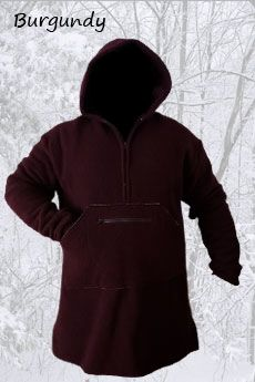Northwoods Anorak Burgandy