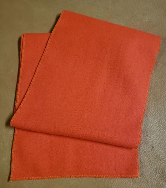 Wool Scarf Hunter Orange