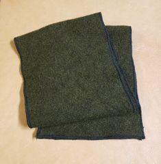 Wool Scarf Olive Drab