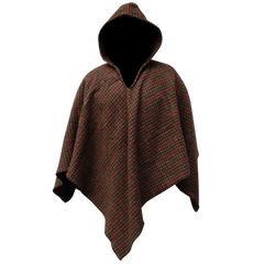 Poncho Autumn Oak Blanket Weight 60 x 60
