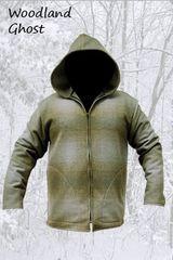 Wool Jacket Woodland Ghost