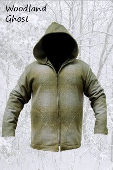 Wool Jacket Woodland Ghost