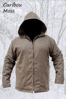 Wool Jacket Caribou Moss