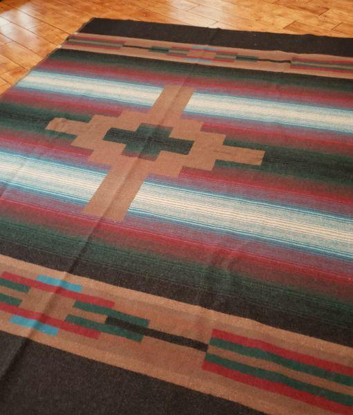 Wool Cabin Blanket 72 x 60