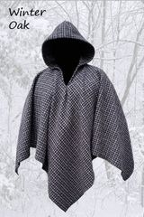 Poncho Winter Oak