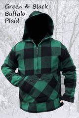Pathfinder Green & Black Buffalo Plaid