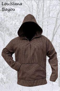 Basic Wool Hoodie Louisiana Bayou