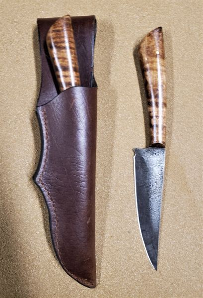 Large Eastern Hunter w/ Leather Belt Sheath