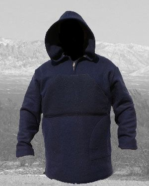 Anorak Navy Blue Blanket Weight