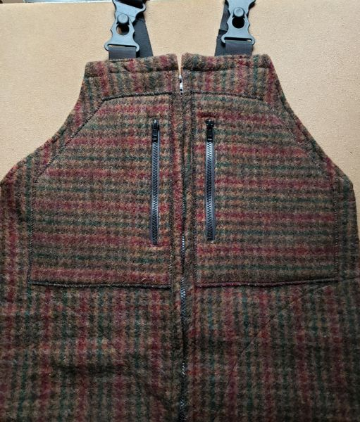 Wool Bibs Autumn Oak