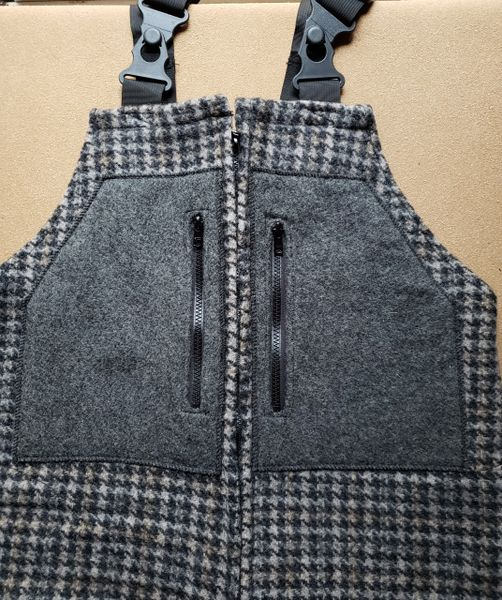 Wool Bibs Winter Oak