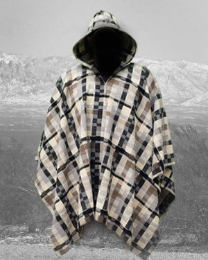 Poncho Northern Ghost