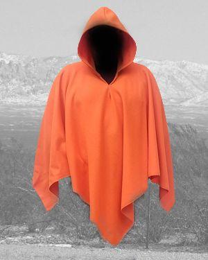 Orange Poncho 60x60