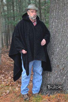 Poncho Black (BlanketWeight)