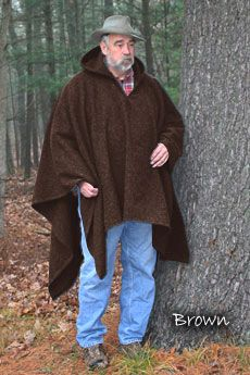 Poncho Brown (Blanket Weight)
