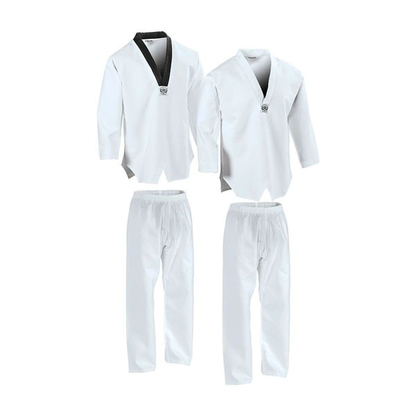 Taekwondo Traditional 7oz V-Neck Uniform