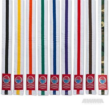 Kids 1.5 Single Wrap White w/Color Stripe