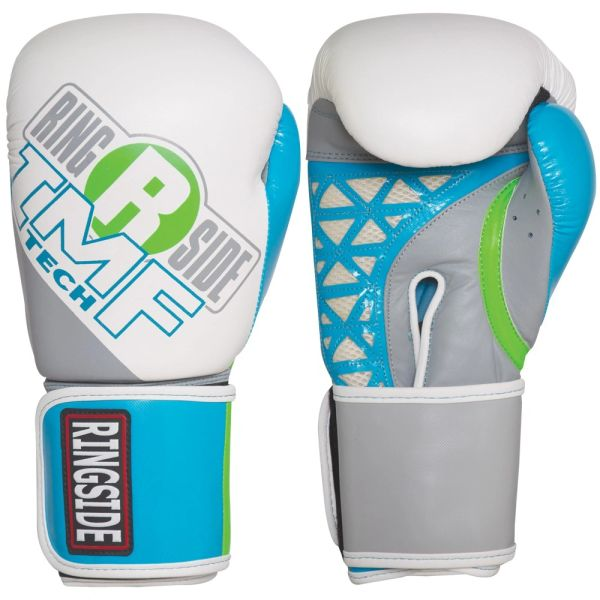 Women's Ringside Cut IMF Tech Sparring Gloves Grey/Blue