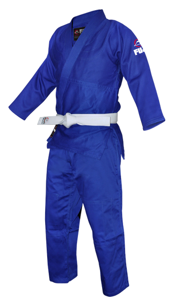 Fuji Sports Single Weave Judo Gi Blue