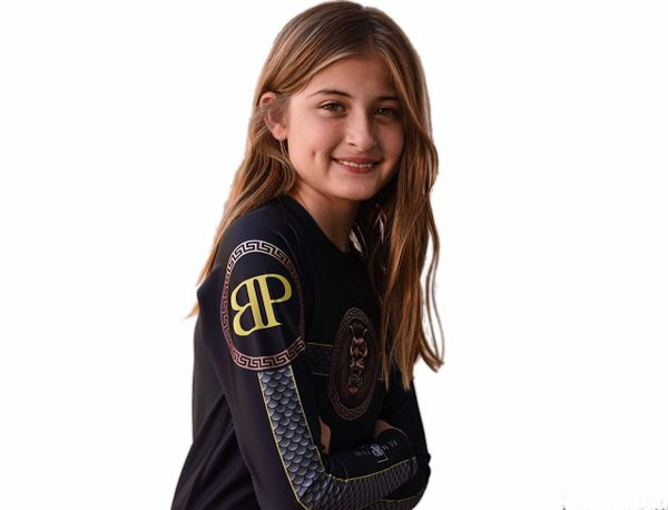 Kids Limited Edition Break Point King Of Beast Jiu Jitsu Rash Guard