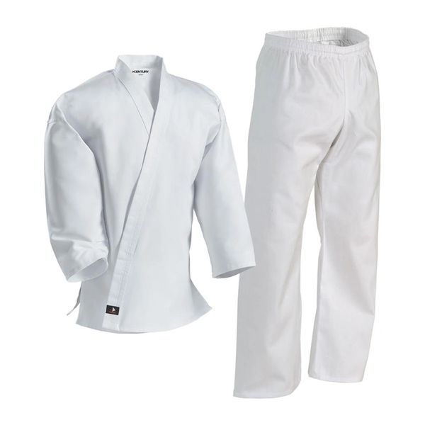 Karate Middleweight 7oz Uniform Elastic Waist Black or White