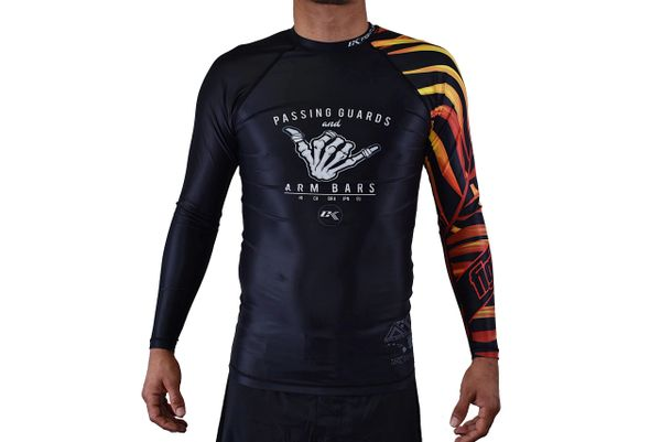 Adult CK Dem Bones Rash Guard