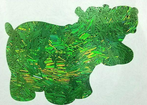 Holographic Tinsel Glitter! - Emerald Slivers
