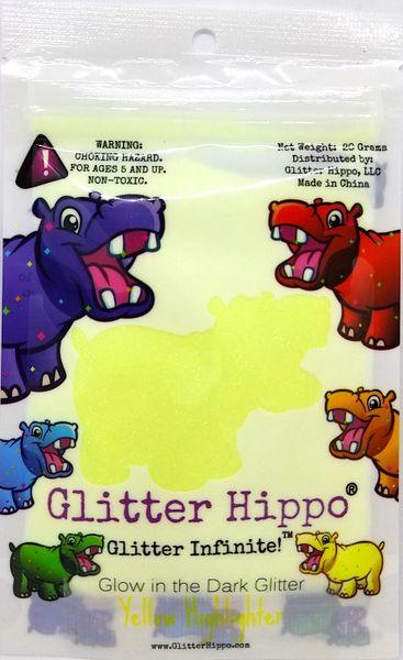 Glow Glitter! - Yellow Highlighter