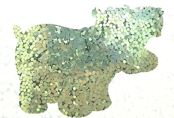 Chunky Glitter - Green Tea Mochi
