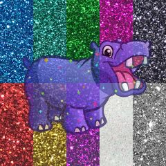 Create & Name Your Own Glitter Blend! - Bundle Pack & Glitter Hippo® Figure!