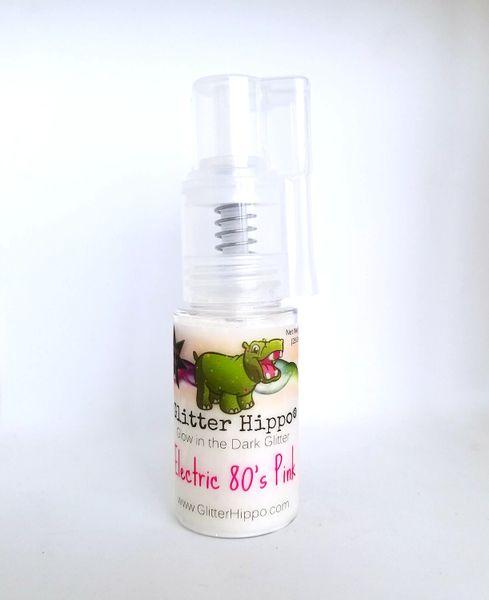 Glow Glitter Pump!™ - Electric 80's Pink