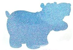 Thermal Glitter! - Sky Blue