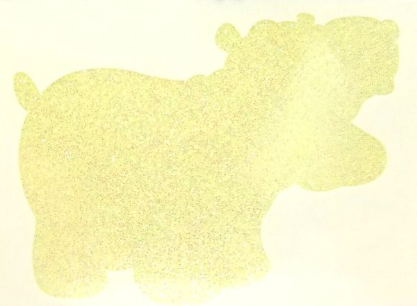 Thermal Glitter! - Yellow