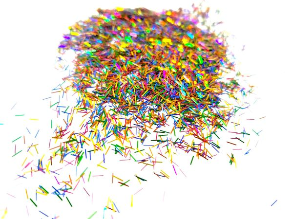 Holographic Tinsel Glitter! - Surprise!
