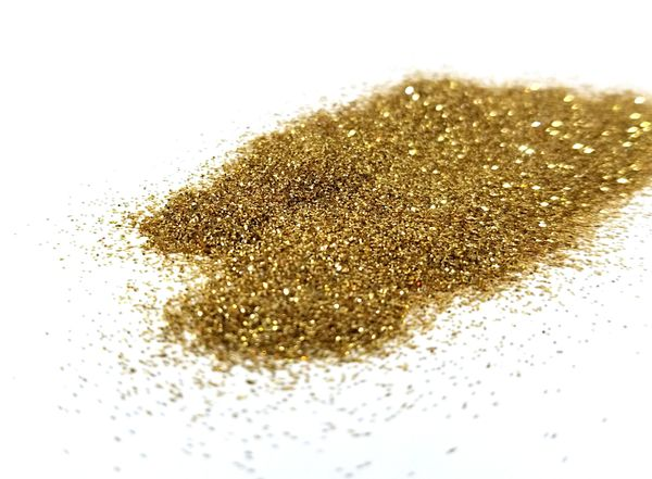Biodegradable Glitter - Light Gold