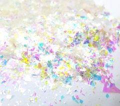 Iridescent Mylar Flakes - Unicorn Rainbow