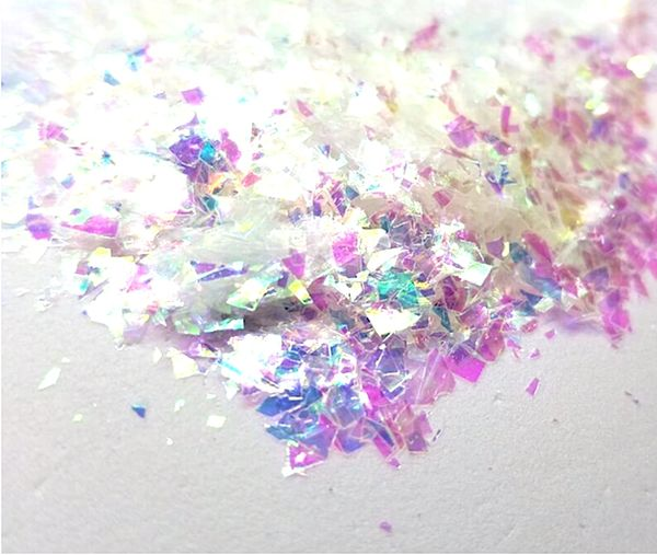 Iridescent Mylar Flakes - Pixie Magic