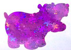 Holographic Shape Glitter! - Purple Puzzle Pieces