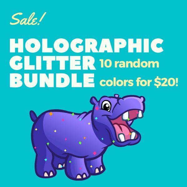 "Holographic 1/128"" Bundle"