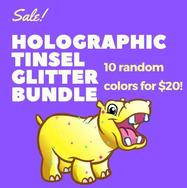 Holographic Tinsel Glitter Bundle