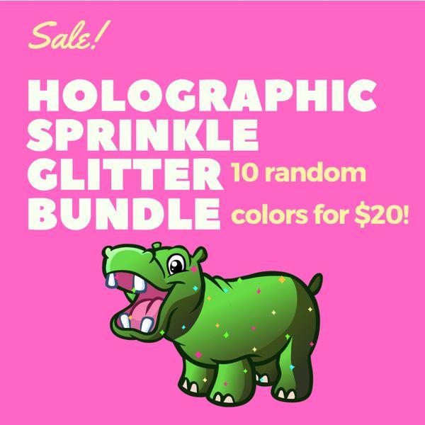Holographic Sprinkle Glitter Bundle