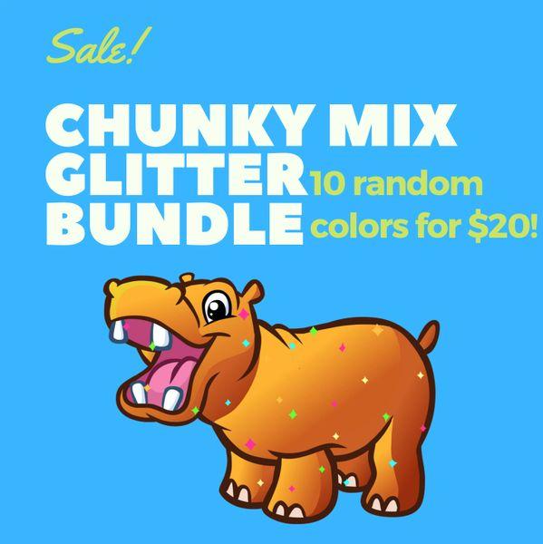 Chunky Mix Glitter Bundle